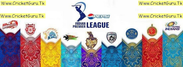 Indian Premier League(6) Schedule 2013
