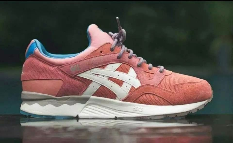 asics gel lyte 5 ronnie fieg rose gold