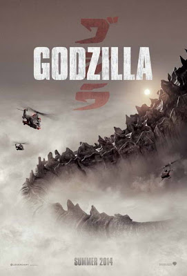 Godzilla (2014) promo poster