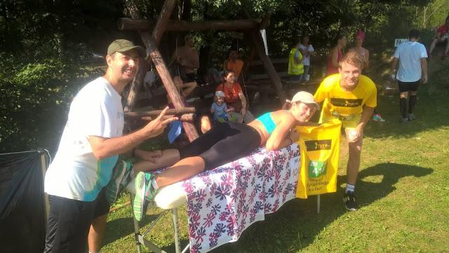 Florin Chindea, maseur la Runsilvania Wild Race 2015. Masaj din Timişoara la Răchiţele. Peisaj Masaj 02