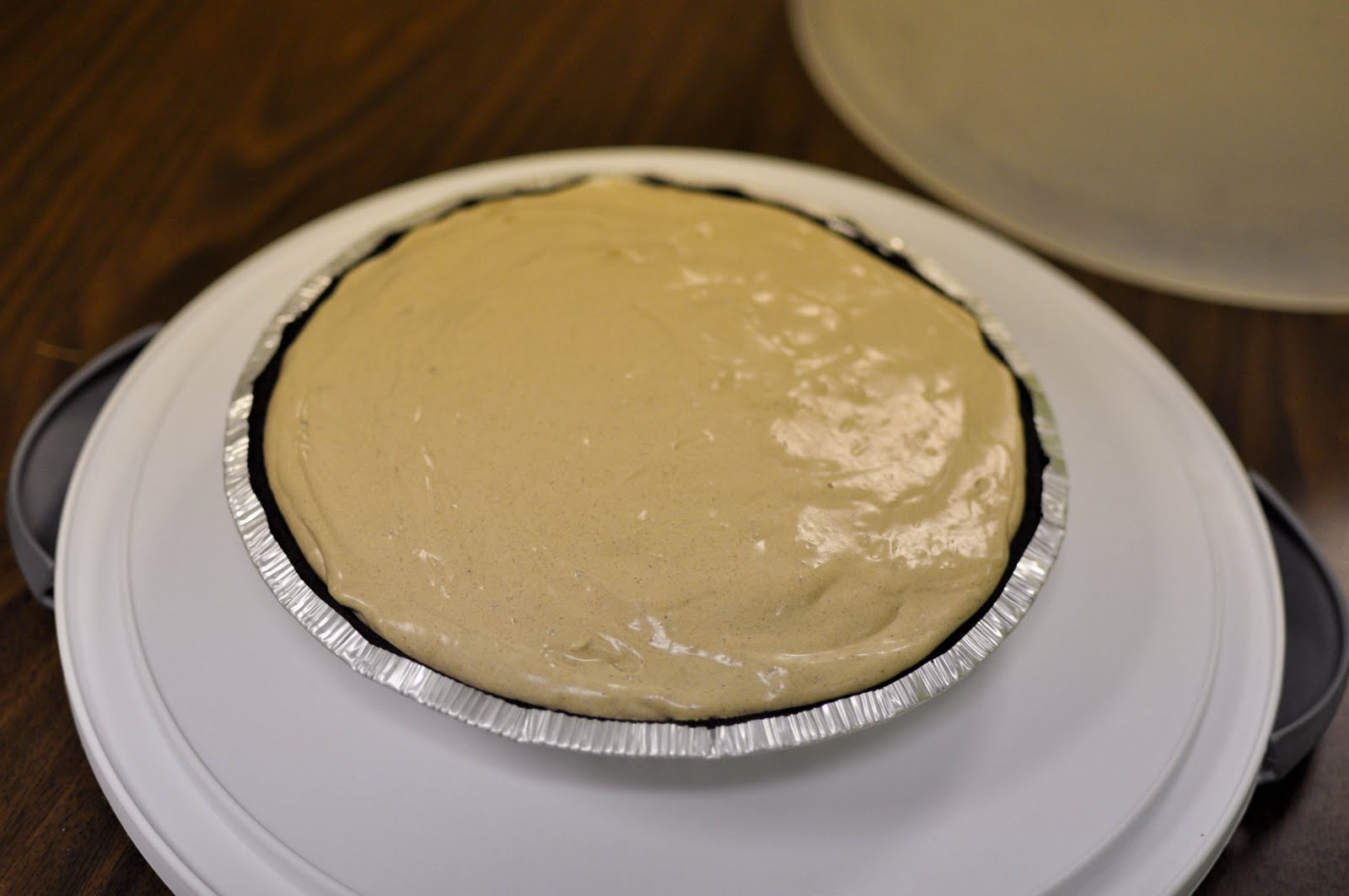 Bless This Food: Baileys Irish Cream Chocolate Mousse Pie