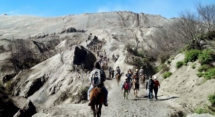 lokasi lautan pasir di gunung bromo