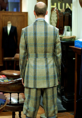 Huntsman tweed suit: Part 6