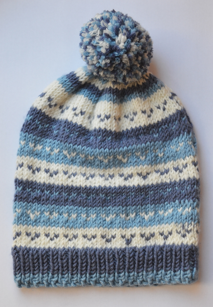 Louise Dawson Design: Small Project Challenge- Fair Isle Knitted ...