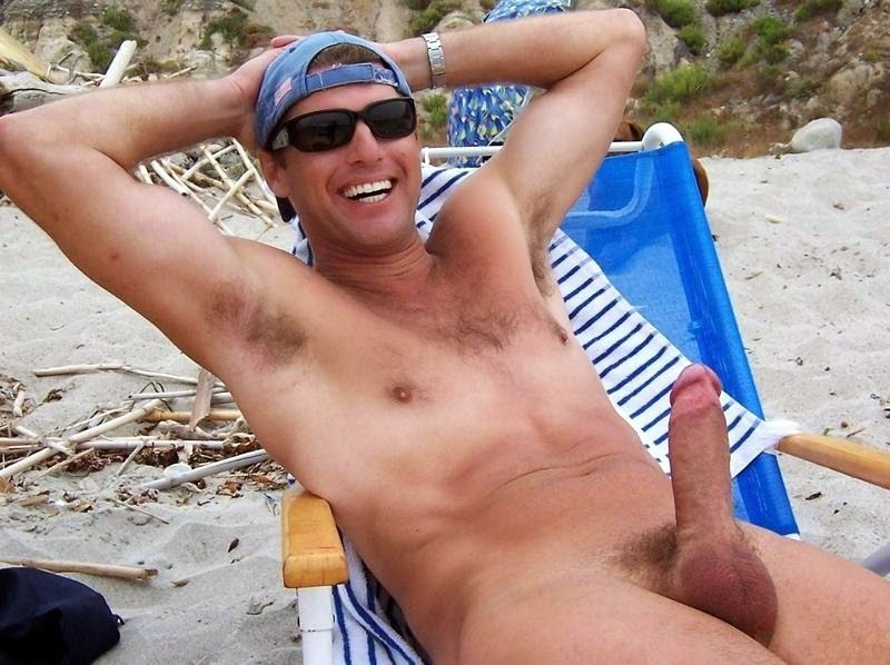 naked beach men
