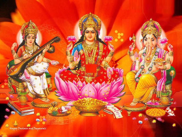 Ganesh-Laxmi-Saraswati   Still, Image, Photo, Picture, Wallpaper