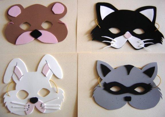 Pasitos de ilusion ......: Como hacer máscaras para nuestros niños.