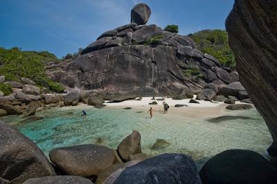 El paraíso intacto de Similan - Tailandia