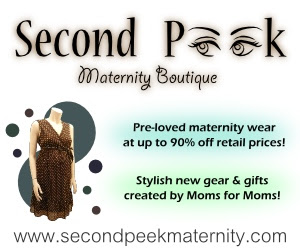 Second Peek Maternity Boutique Logo