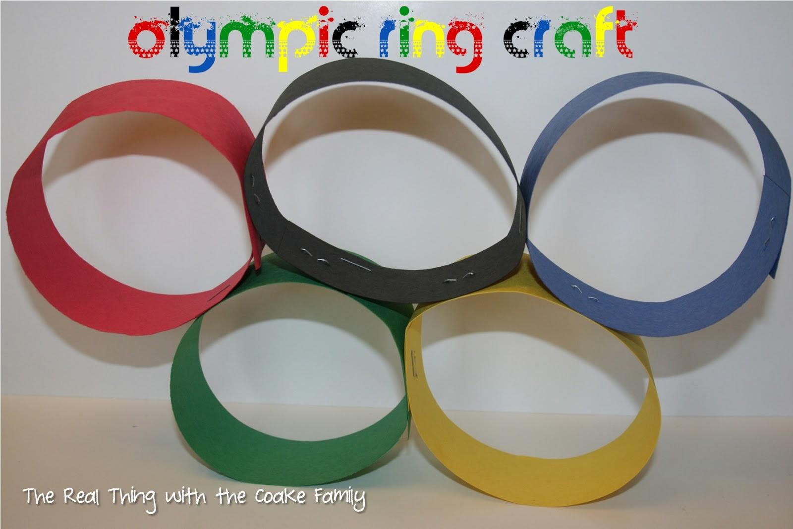 Олимпийские поделки своими руками фото