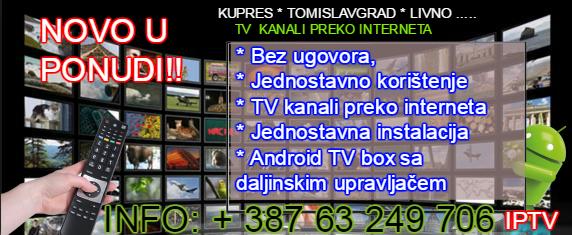 TV KANALI PREKO INTERNETA - IPTV BEZ PRETPLATE