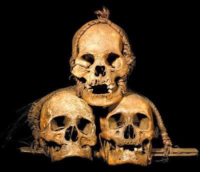 Empat Tengkorak Manusia Dipindahkan dari Muzium Sarawak