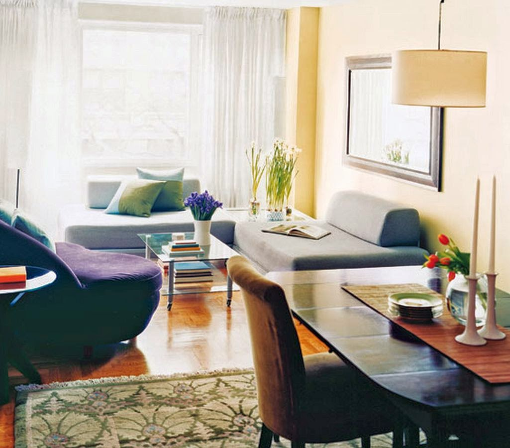 Simple living room decorating ideas kuovi for Simple apartment design