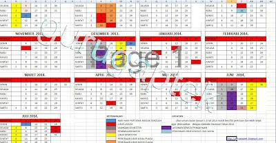 kalender pendidikan 2013-2014