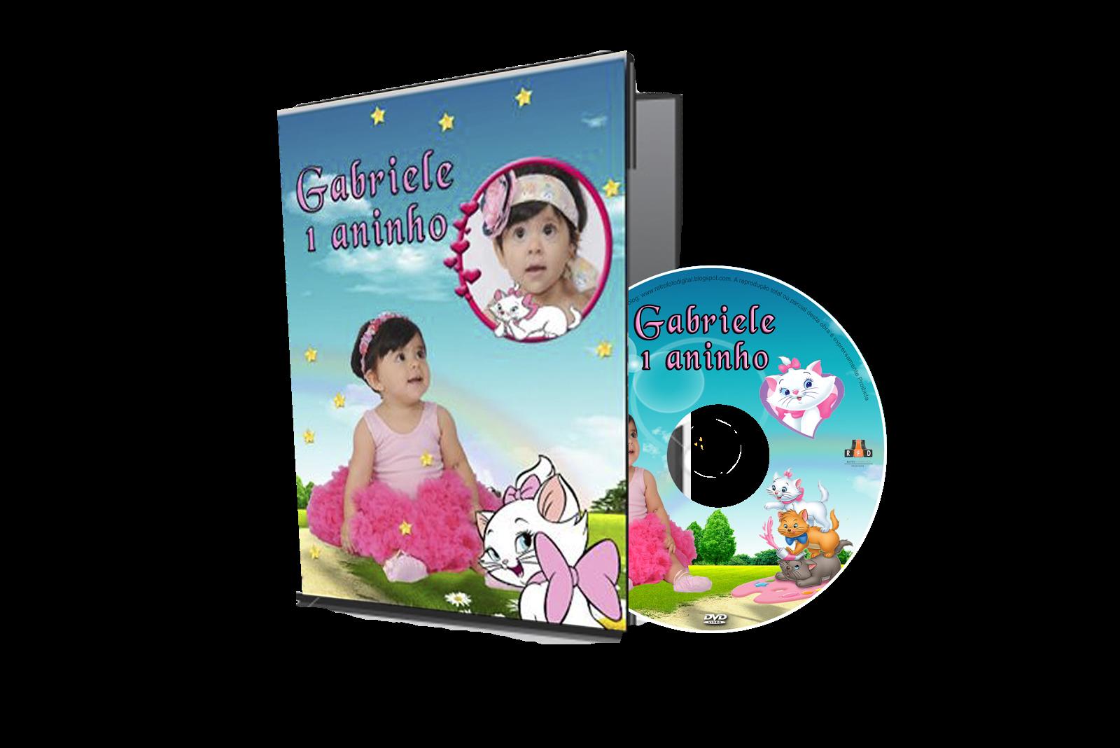 Cada de DVD da Gata Marie