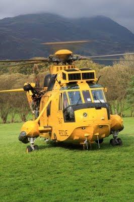 hélicoptère, Sea King, S-61, Sikorsky, hélicoptère jaune