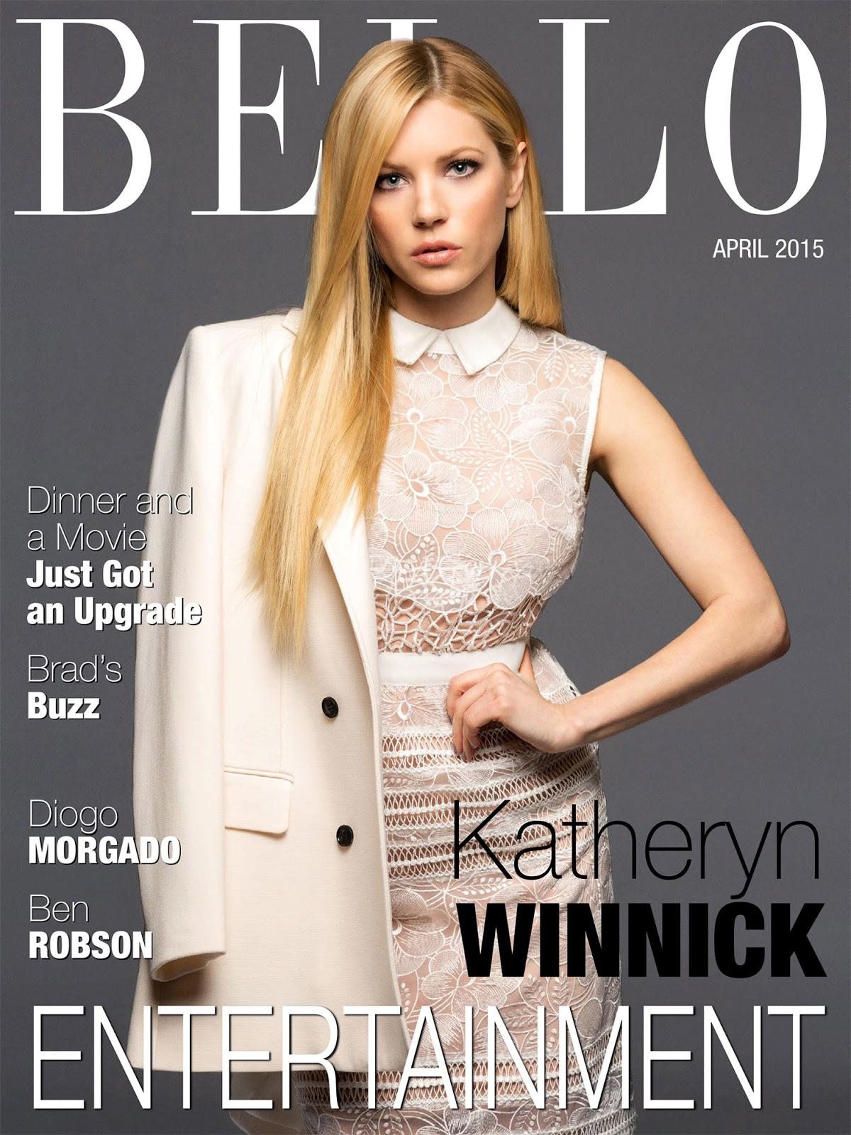 Actress @ Katheryn Winnick - Bello Magazine, April 2015