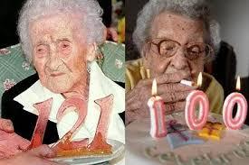 Jeanne Calment wanita tertua di dunia