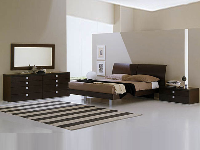 of some modern bedrooms.