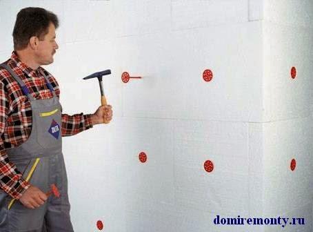 Как утеплить стену дома или квартиры пенопластом изнутри