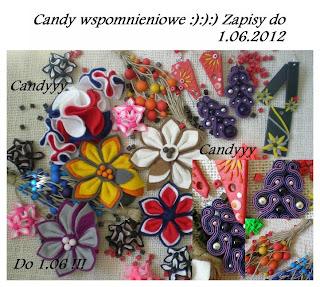 Wygrane candy! Dziękuję :-)