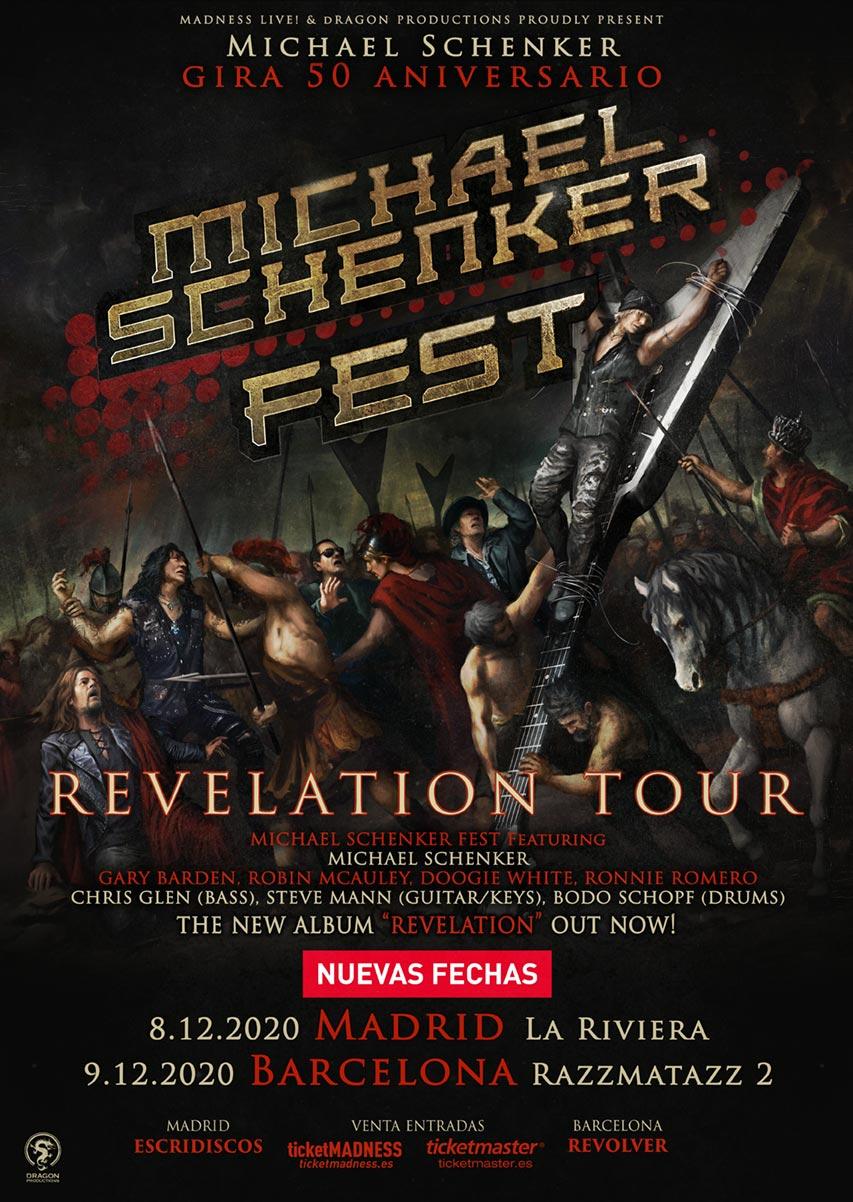 MICHAEL SCHENKER FEST EN ESPAÑA
