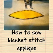 http://projectsbyjane.blogspot.sg/2014/05/machine-applique-using-blanket-stitch.html