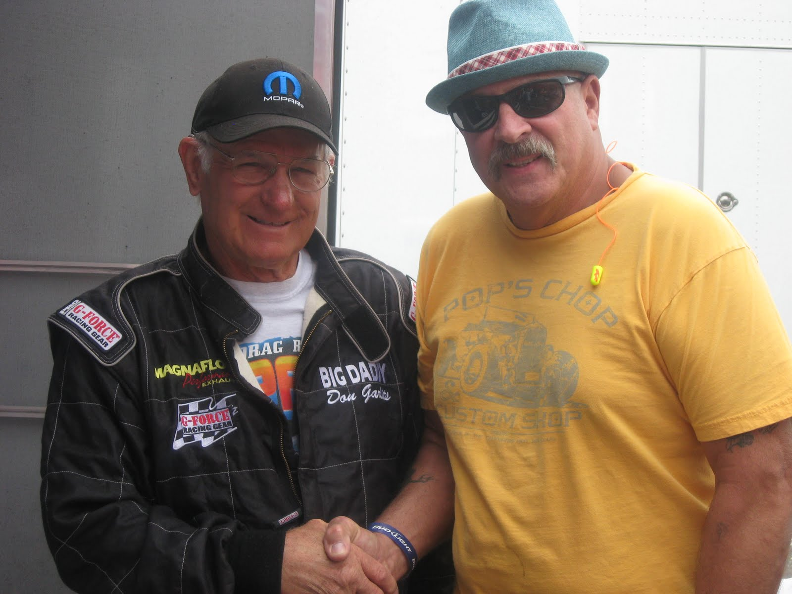 BIG DADDY DON GARLITS WITH THE PAISANO