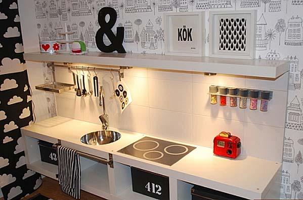 Creatividad para mam s decoraci n infantil y diy for Cocina lidl madera