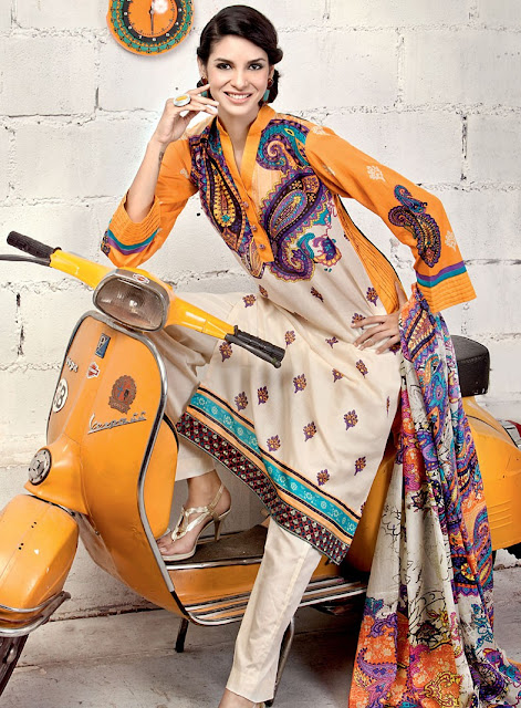 Lawn Summer Designs 2012 by Gul Ahmed