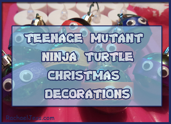How I added TMNT Christmas decorations to our home