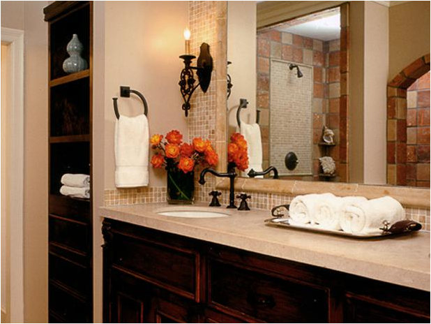 Old world bathroom design ideas room design ideas for Bathroom ideas 3 4