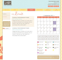 Create with Cari Upcoming Events Calendar