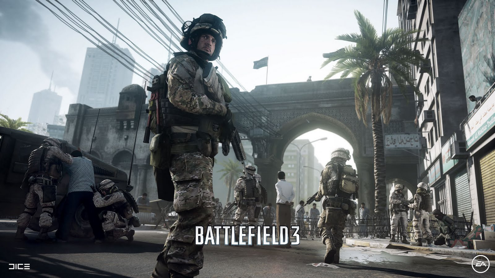 Battlefield 3, soldiers, trop