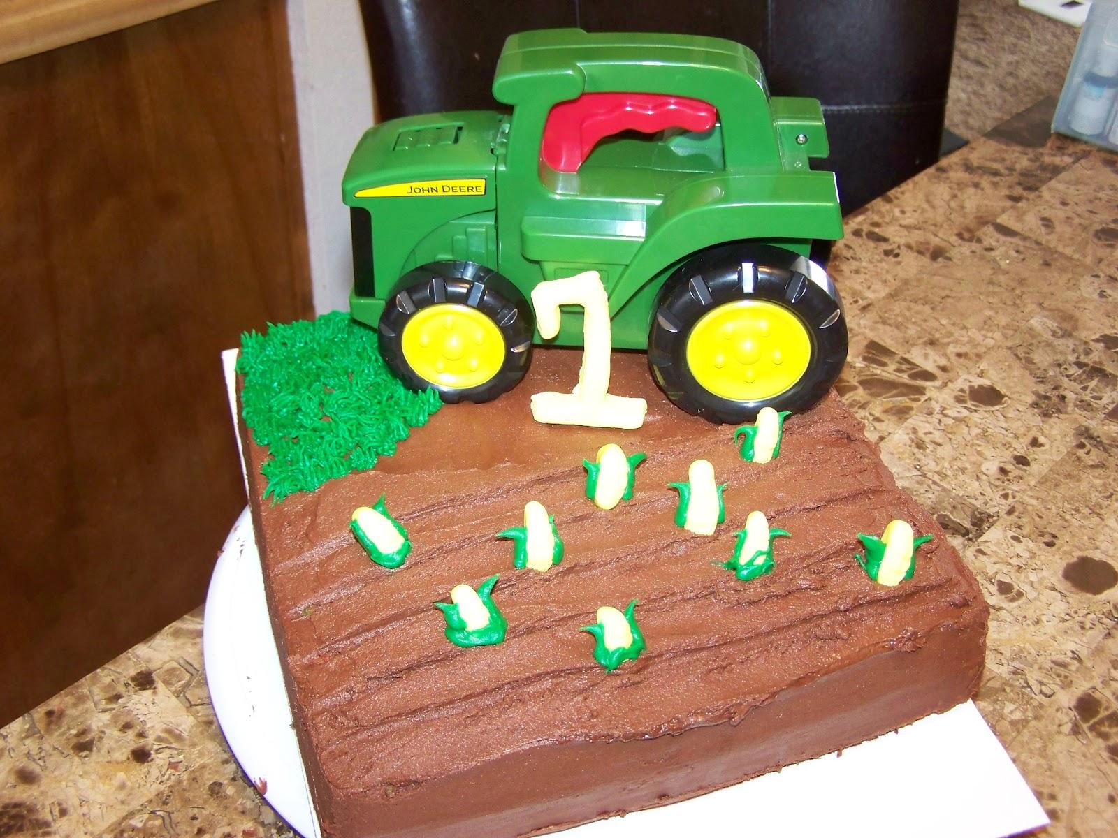 CakeALicious John Deere Birthday Cake