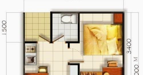 desain rumah sederhana 5x6 meter dengan konsep mewah new 2015