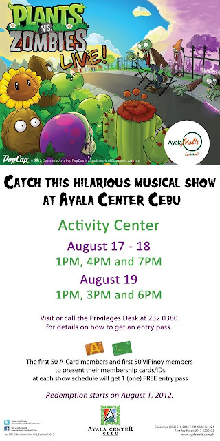 PlantsVs.Zombies Live in Cebu