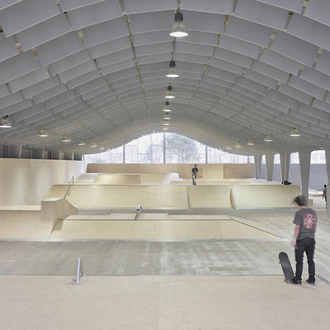 Of Paper And Things Build Modern Skate Park