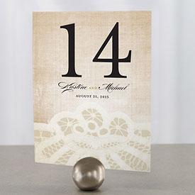 Top 2012 Wedding Blog: Vintage Wedding Ideas Vintage Table Numbers