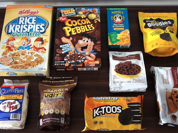 6. glutenfreie Kiste - Produkte aus den USA