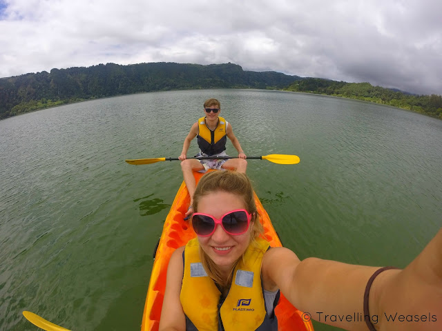 Fun times at Lagoa das Furnas