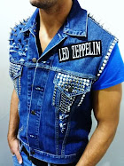 SPIKES JEAN JACKET