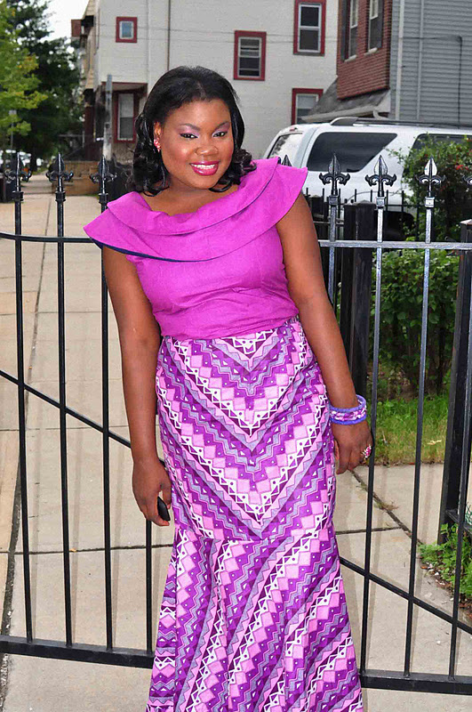 Nigerian Skirt And Blouse Styles 46