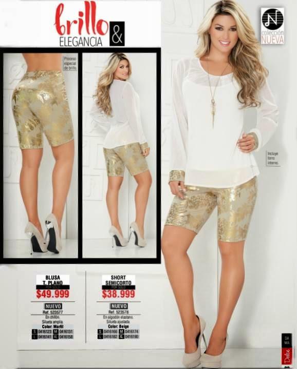 Short y blusa de moda. C-3 Dolce