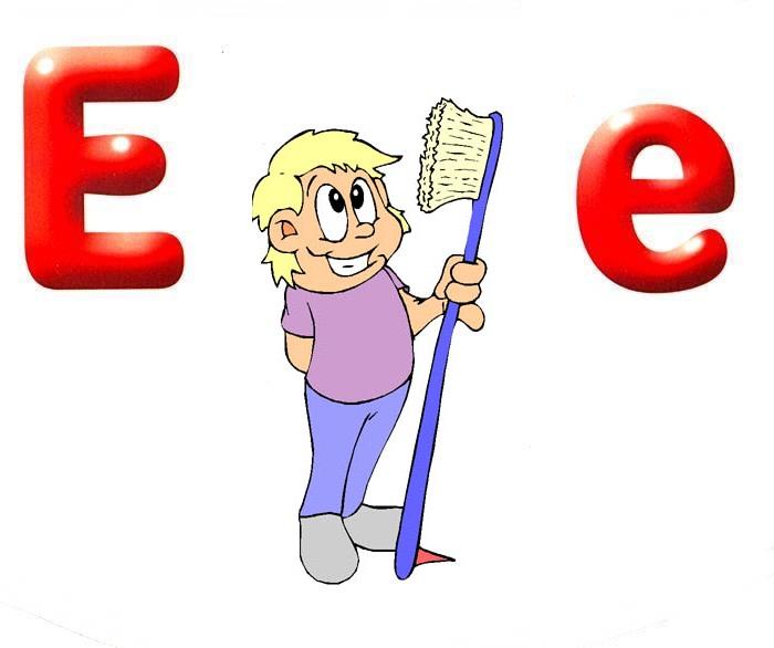 Desenho como desenhar letras do alfabeto letra E pintar e colorir