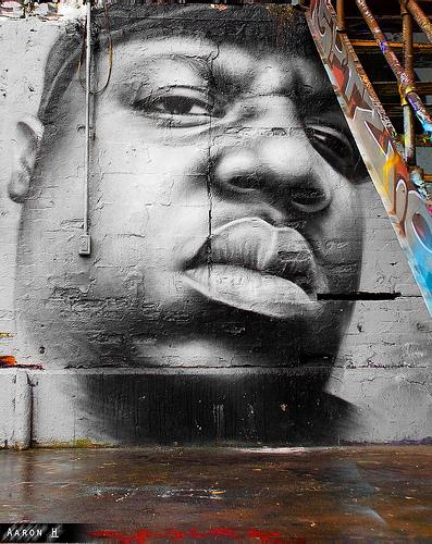 Best biggie graffiti wall urbannation for Eminem wall mural