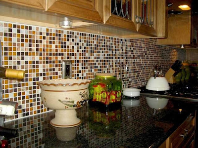 luck Interior: Unique Kitchen Backsplash Ideas