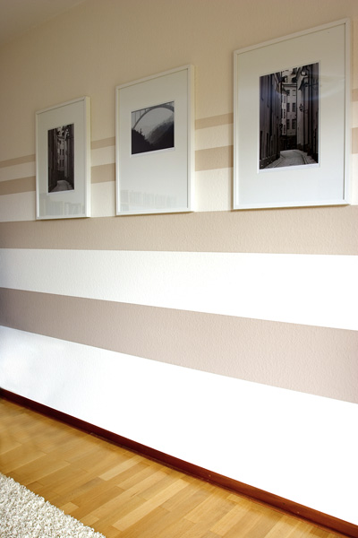 Wandgestaltung Wohnzimmer Grau ? Dumss.com Wandgestaltung Wohnzimmer Grau Streifen