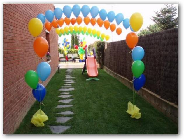 Decorar con globos fiestas infantiles for Globos decoracion fiestas