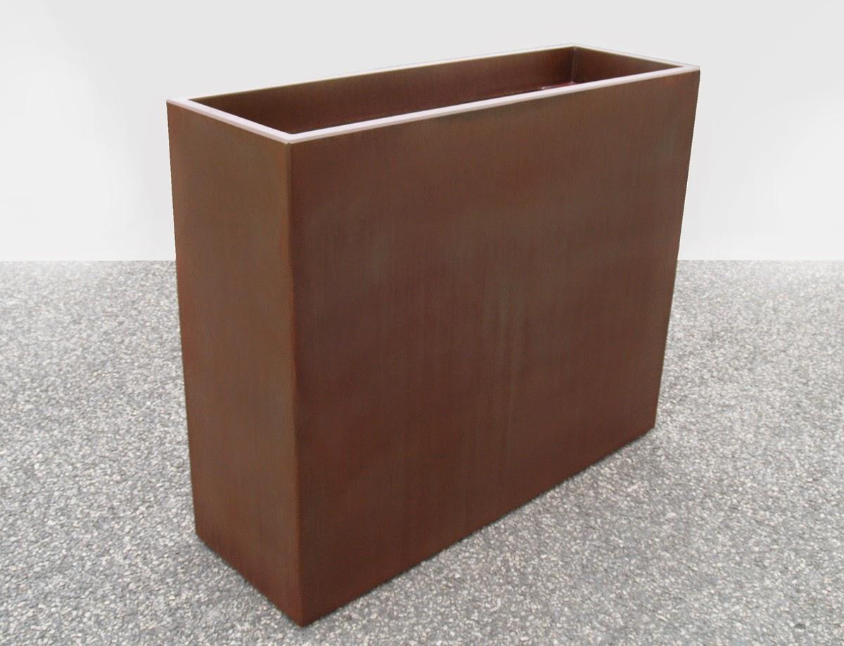 jardini re aspect rouill finition rust. Black Bedroom Furniture Sets. Home Design Ideas